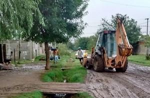 El Municipio acercó ayuda a las familias de Nueva Roma