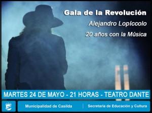 GALA DE LA REVOLUCIÓN