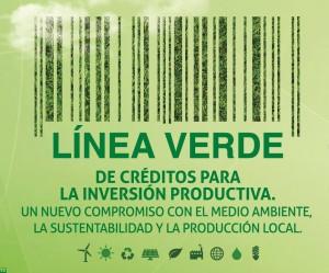 Linea Verde de Créditos