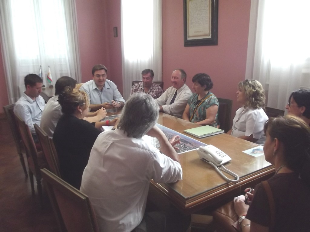 Reunion con directores escuelas secundarias