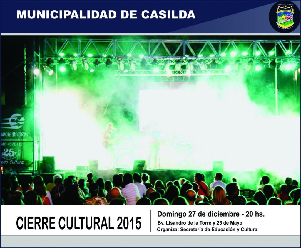 Cierre cultural 2015