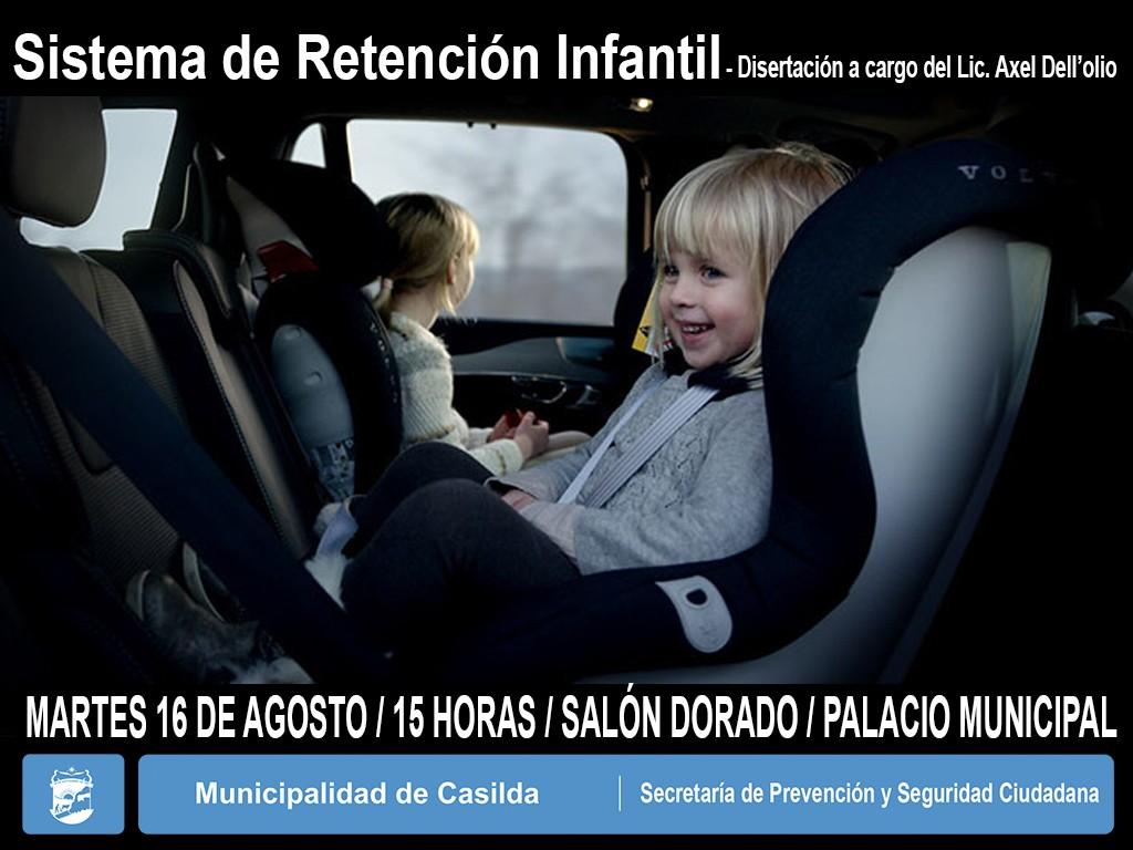 Sistema de retención infantil charla Dellolio