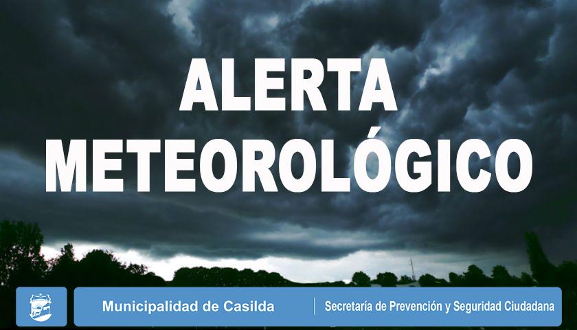 ALERTA METEOROLÓGICO