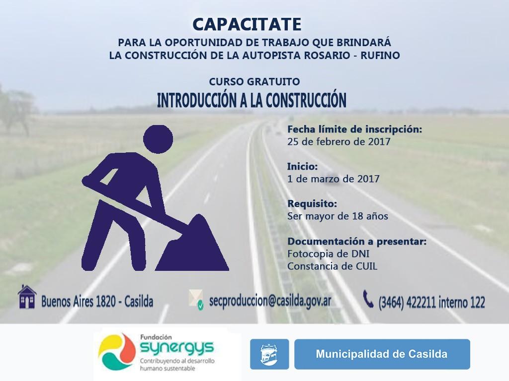 Curso Introducción a la Construcción