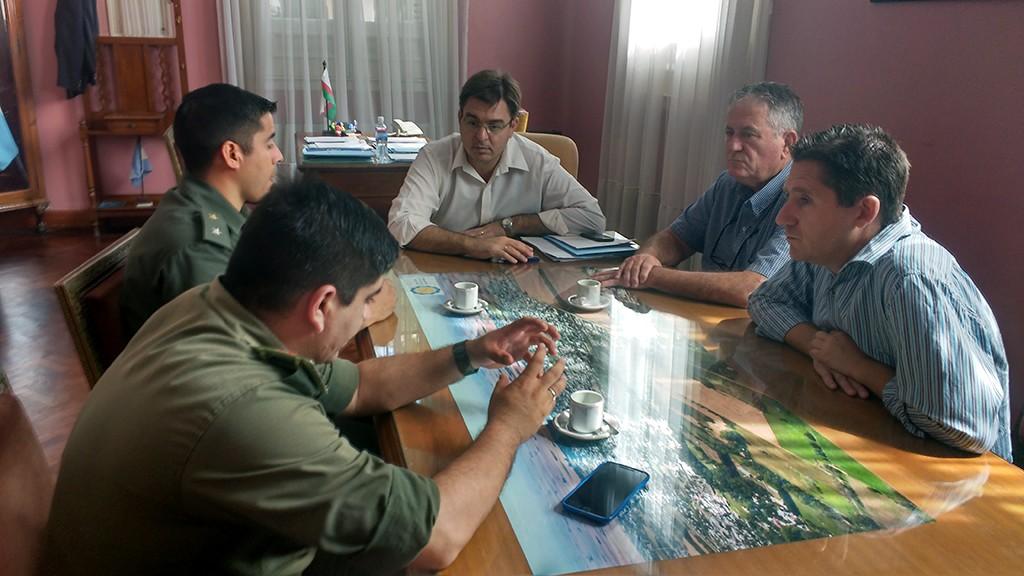 Gendarmería viene a reforzar la seguridad