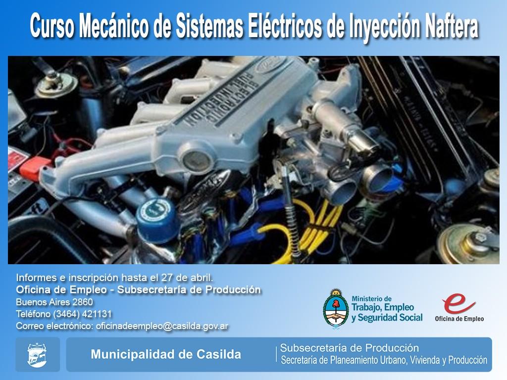 Curso mecánico inyección a nafta