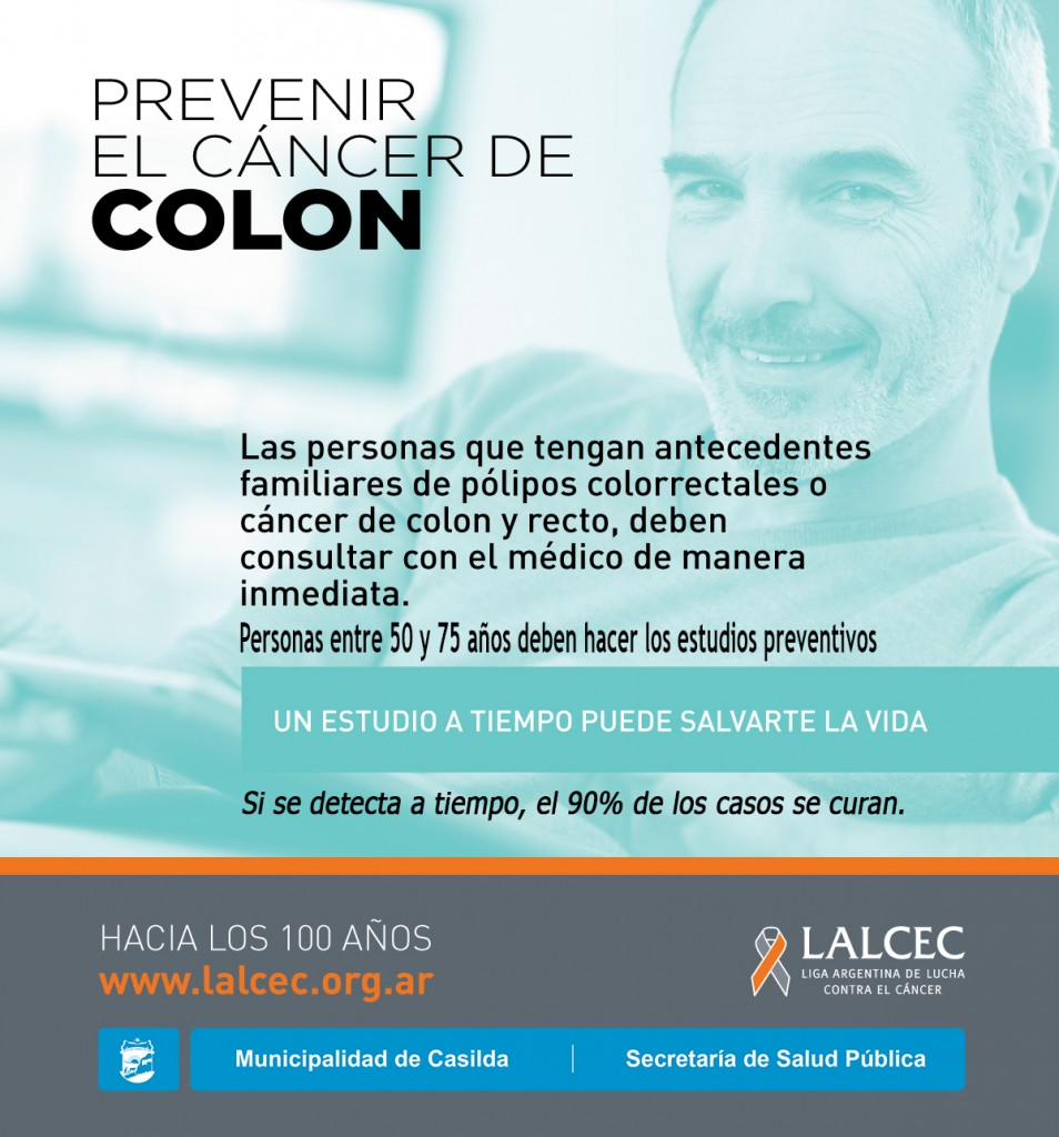 Campaña de prevención de cáncer de rectocolon