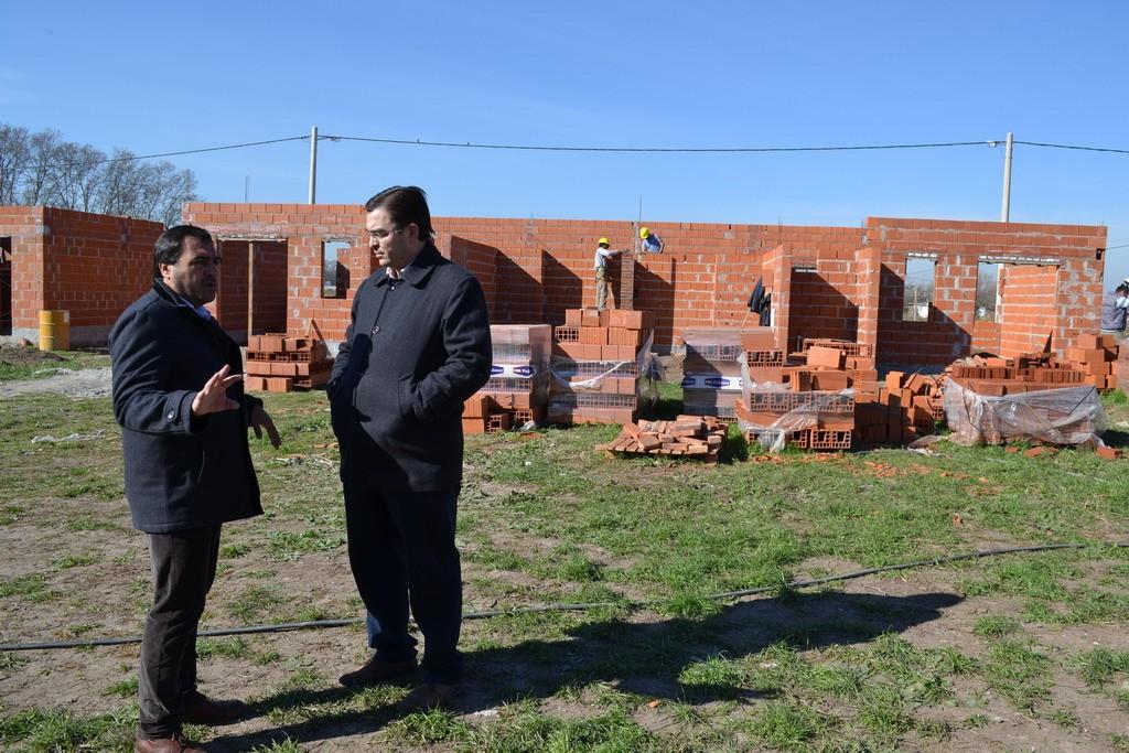 Avanza la construcción de 26 viviendas en Nueva Roma B