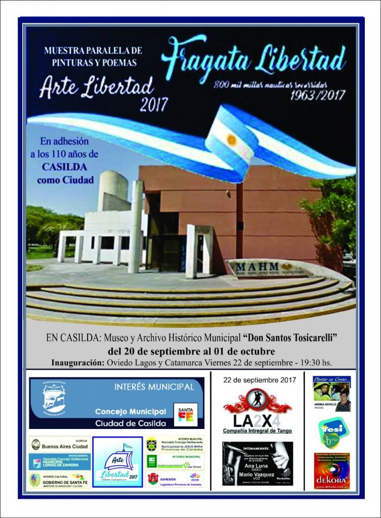 Muestra Arte en Libertad 2017