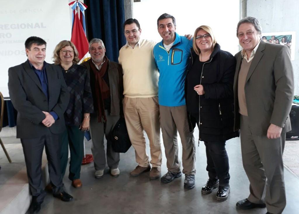 Sarasola en Encuentro Regional de Clubes de Ciencias