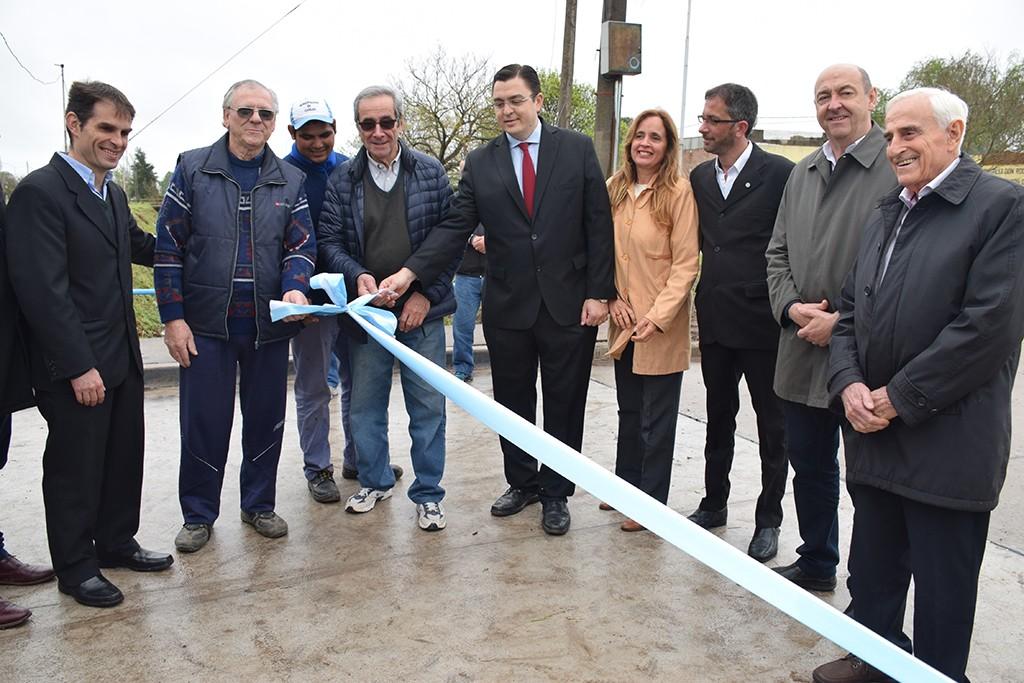 Quedó habilitado el puente de 25 de Mayo y Tucumán