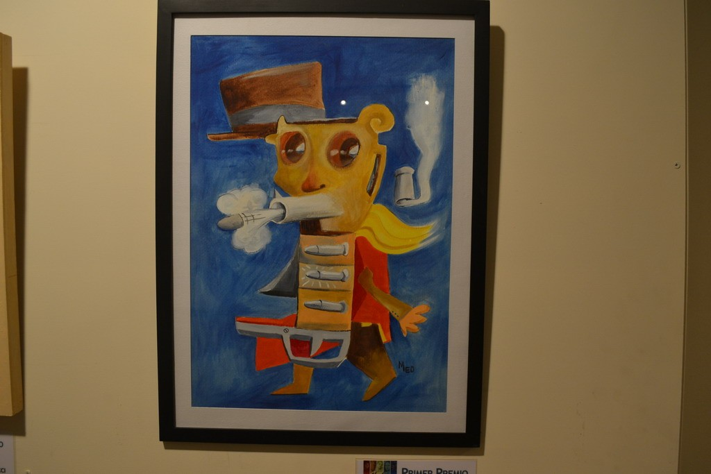 23 salón artista casildense - 1 premio dibujo pintura relieve obra