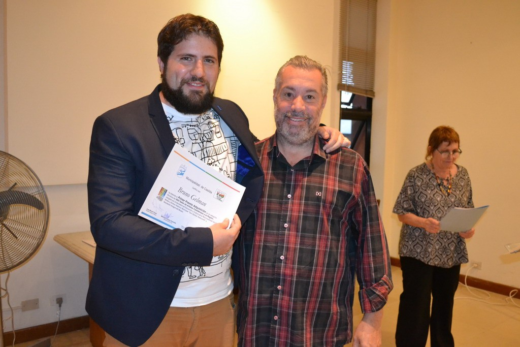23 salón artista casildense - 1 premio escultura Bruno Gelman