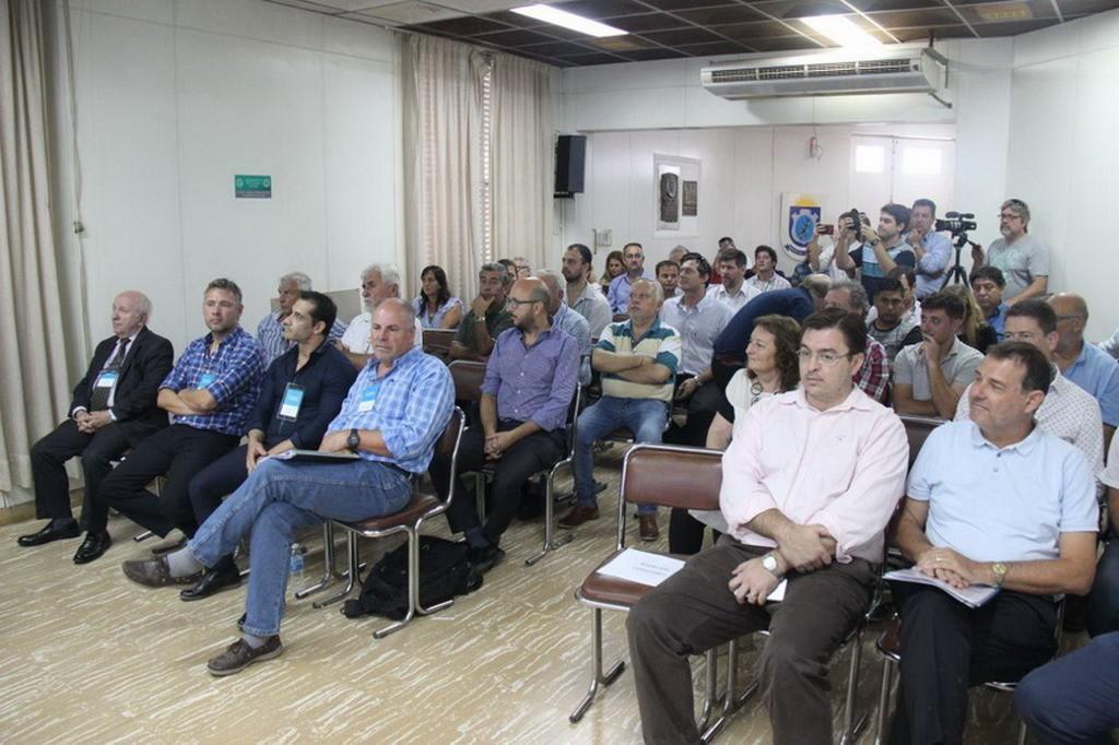 Sarasola participó de la audiencia pública por el Corredor Vial F