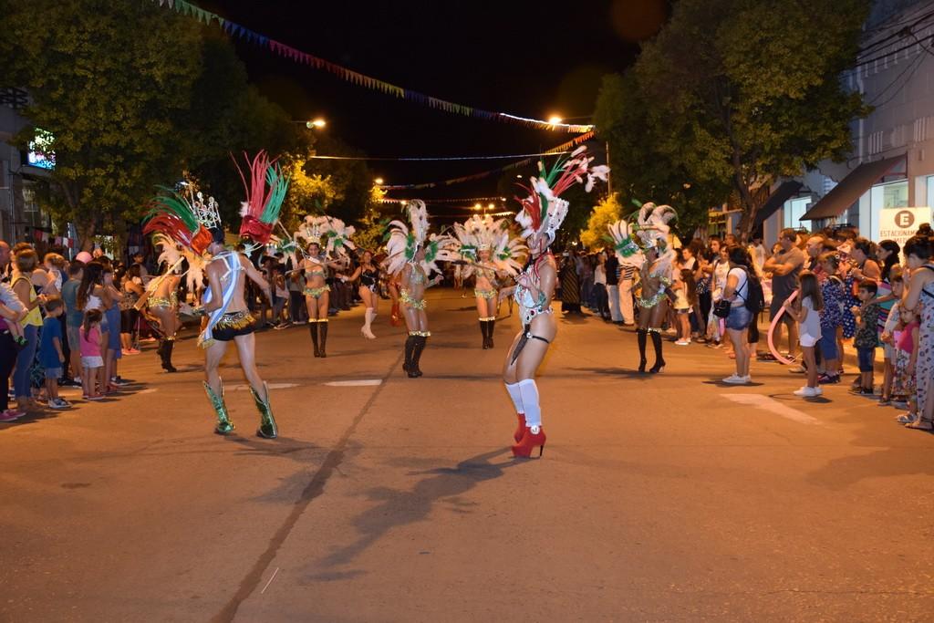 El Carnaval se encendió en la Buenos Aires