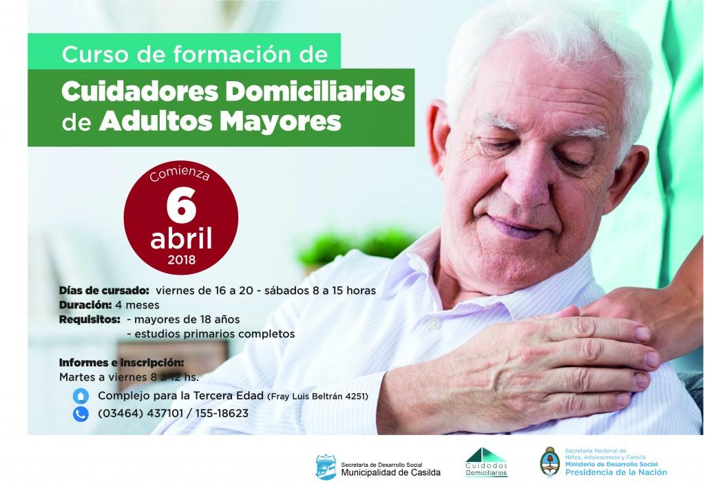 Afiche cuidados adultos mayores