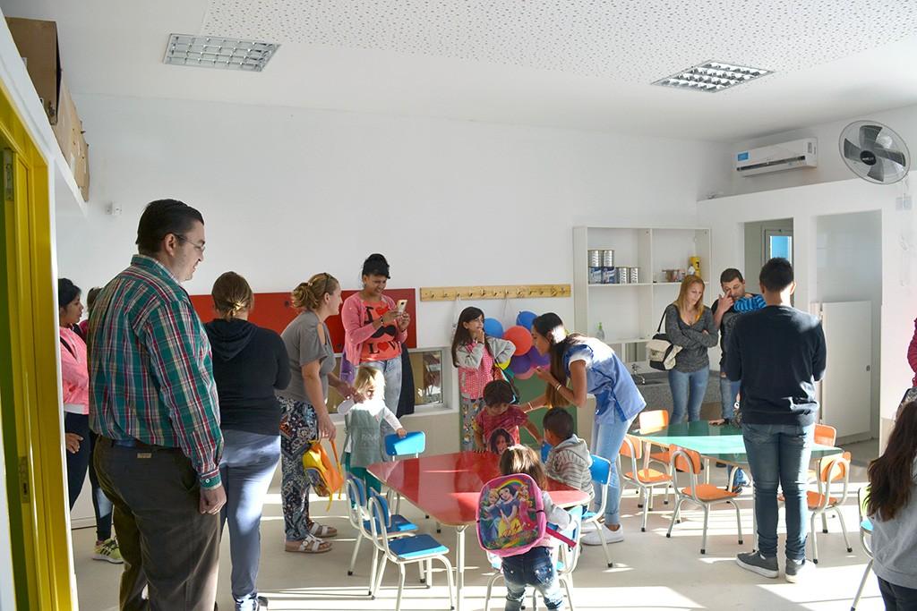 Comenzó la actividad en el Centro de Cuidados Infantiles