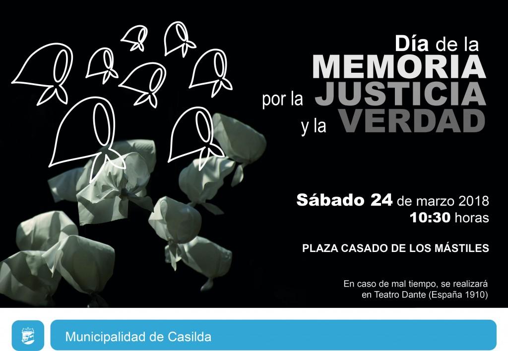 Día de la Memoria 2018