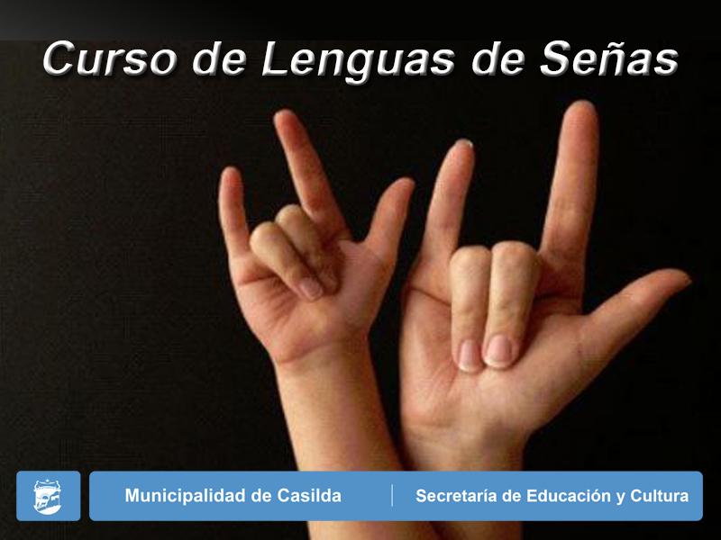 curso de lengua de señas